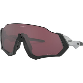 Oakley Flight Jacket Pyöräilylasit, matte black/prizm road black
